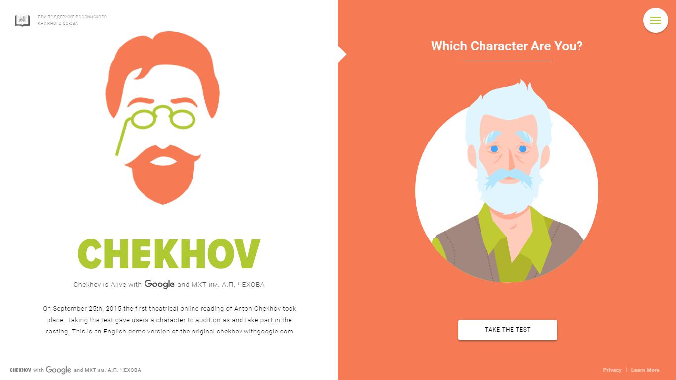 Chekhov With Google