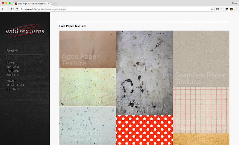 The Ultimate List of Free and Paid Paper Texture Resources