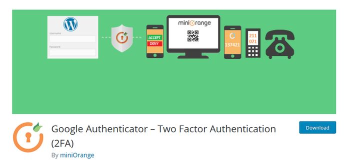 Google Authenticator WordPress Plugin for Two Factor Authentication