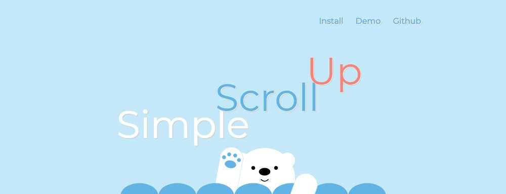 Simple ScrollUp plugin