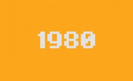 1980 font