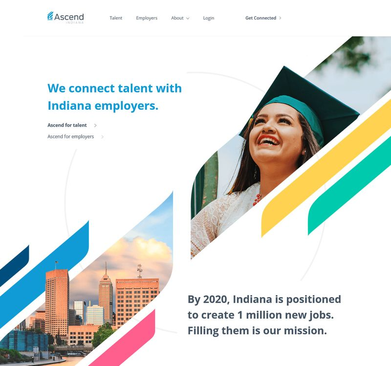 Ascend Indiana Landing Page