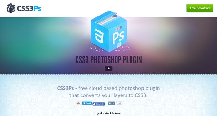 CSS3Ps - Best Photoshop Plugins
