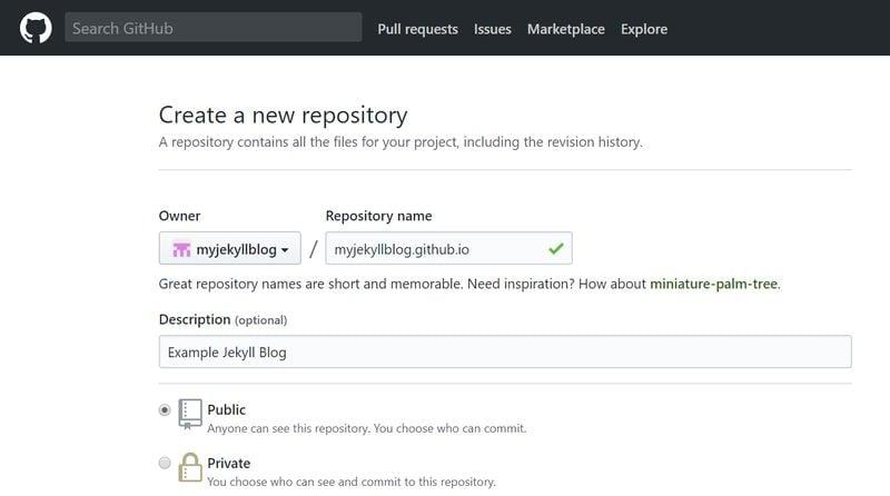 GitHub Name Your Repository