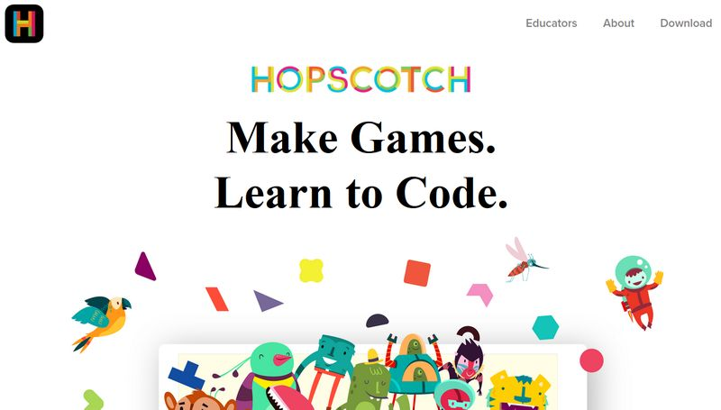 Coding Apps for Children- Hopscotch
