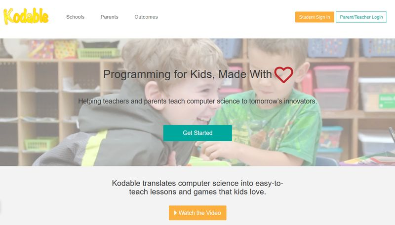 Coding Apps for Children - Kodable