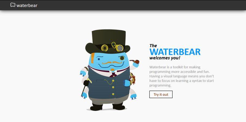 Coding Apps for Children - WaterBear