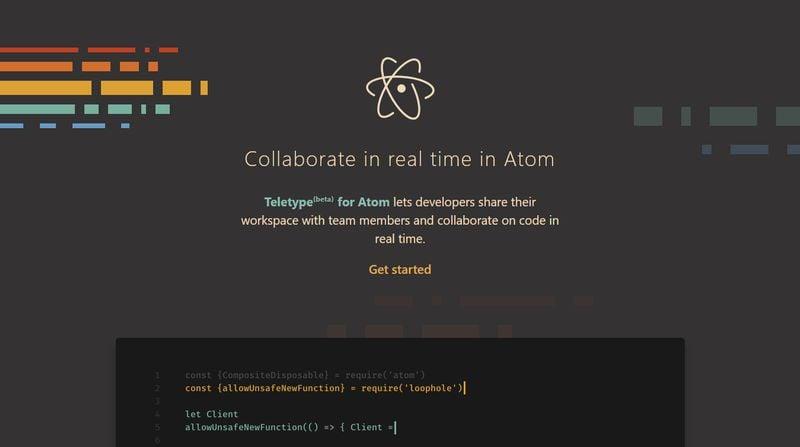Teletype - Best Atom Packages