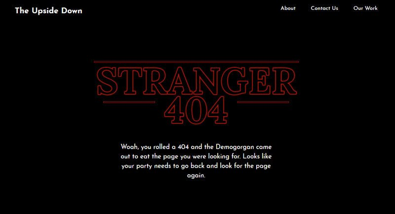 404 Page by Chase Allbee