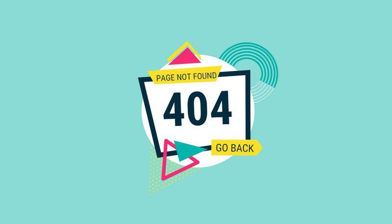 Animated 404 Page by Susan Lee
