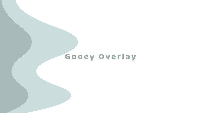 Gooey Overlay by Yoichi Kobayashi