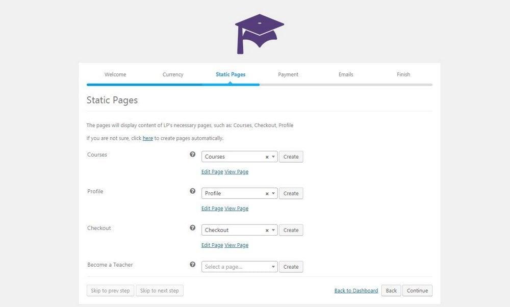 learnpress-setup