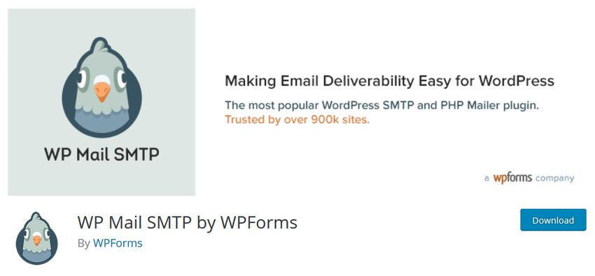 WP Mail SMTP by WPForms plugin
