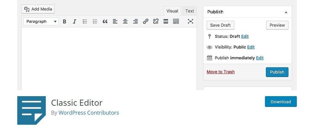 wp-classic-editor