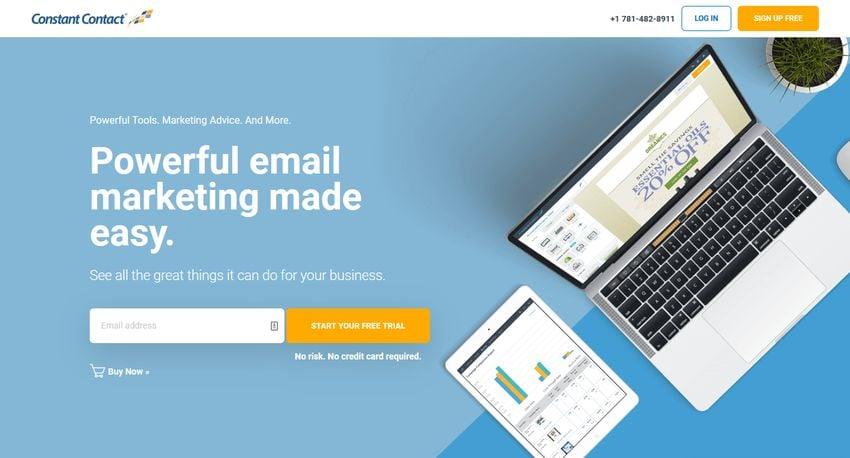Constant Contact - Best MailChimp Alternatives