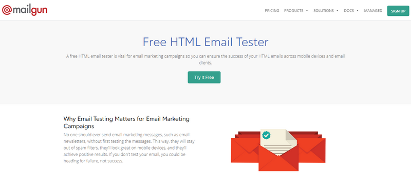 free best email testing tools