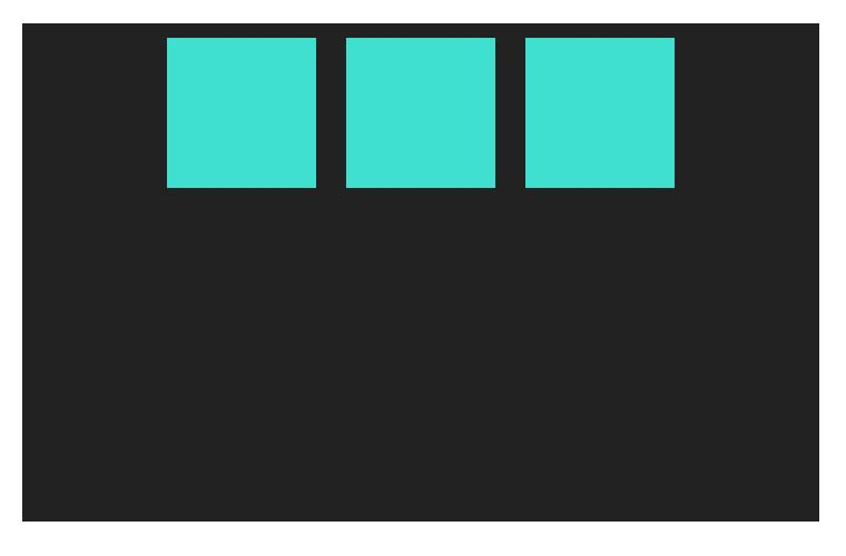 Flexbox centering along main axis in row-based layouts