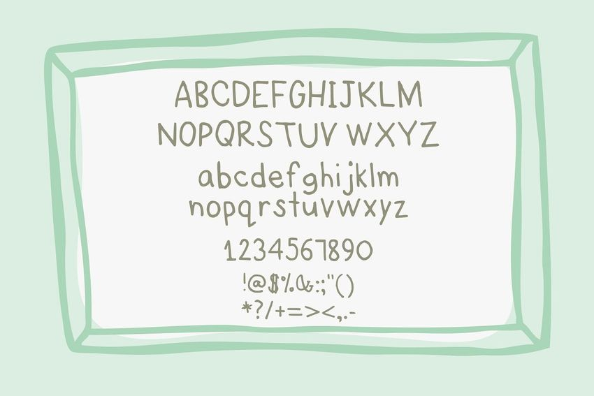Story Handdrawn Font