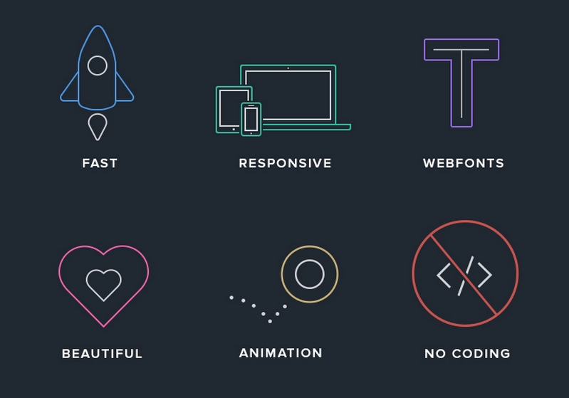 Blocs icons by Norm