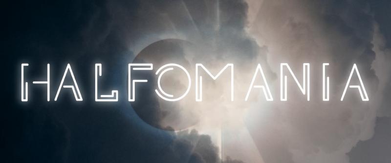 Halfomania - best neon fonts