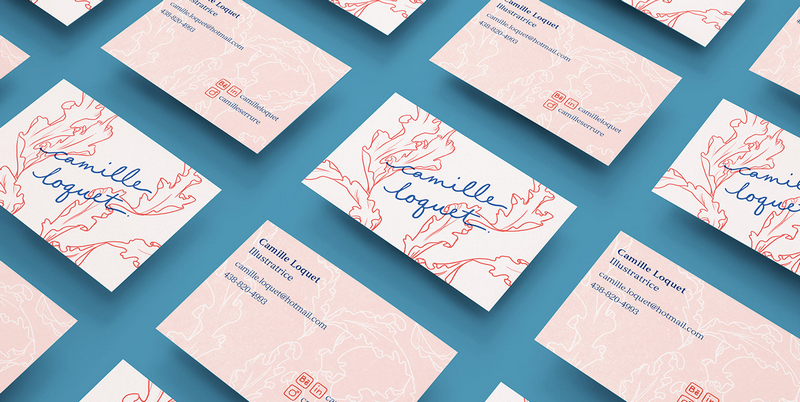 Camille Loquet business card