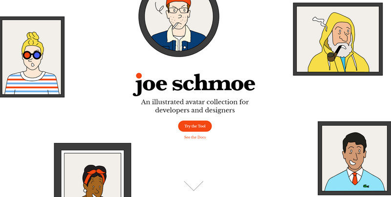 Joe Schmoe character creator app
