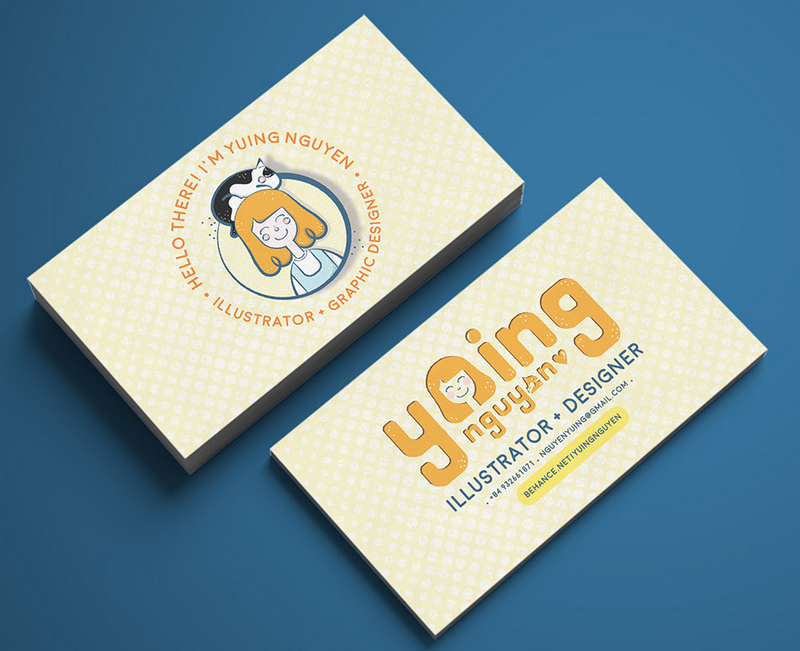Yuing Nguyen Business Card