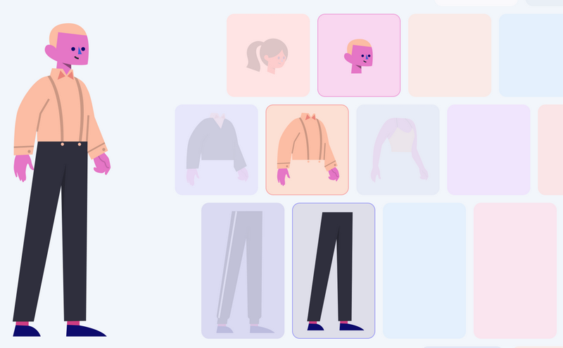 Stubborn - best character creator apps