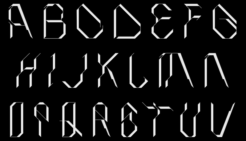 Roborotica is one of the best futuristic fonts
