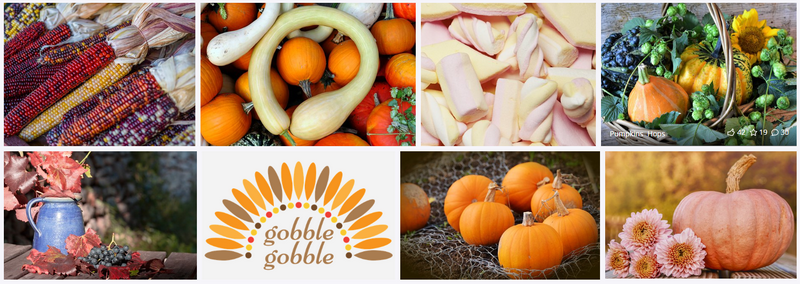 Thanksgiving images on Pixabay
