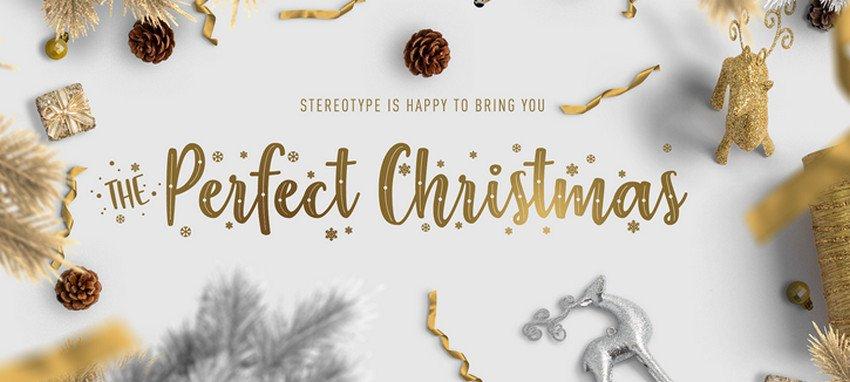 Christmas Fonts for for Christmas web design