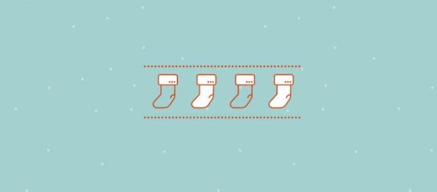 Christmas Stocking Loading Animation
