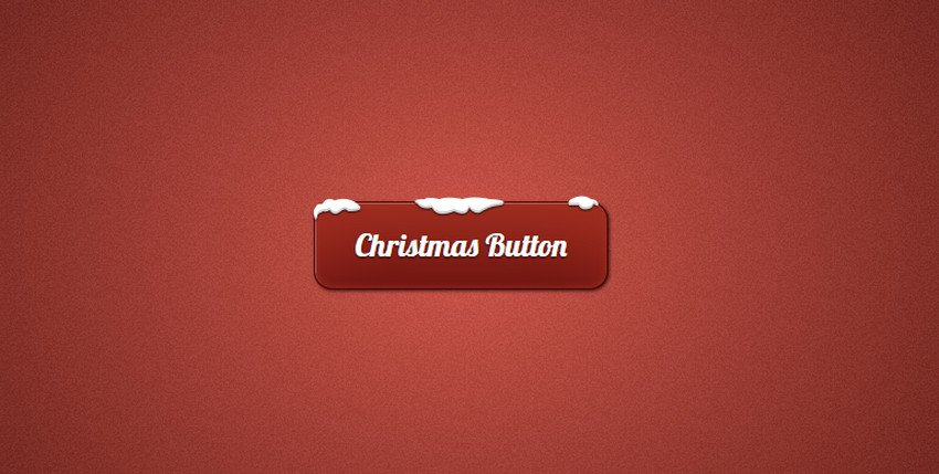 Button Styles for Christmas Web Design