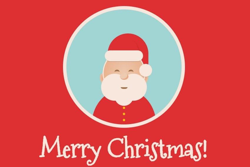 Pure CSS Merry Christmas
