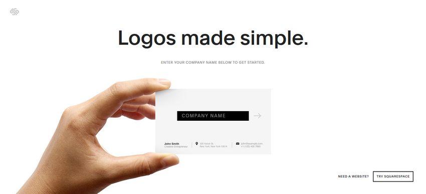 Squarespace Logo Maker App